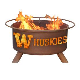 Patina Products 24-In W Natural Rust Steel Wood-Burning Fire Pit F249