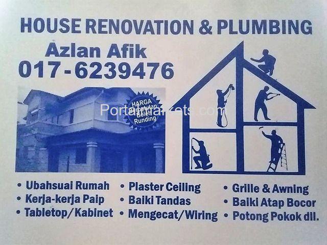 Repair Perhidmatan Kami Ubahsuai Rumah Mengecat Bilik Air Buat Table Top Pasang Parion Tukar Pintu Sli Malaysia Kuala Lumpur
