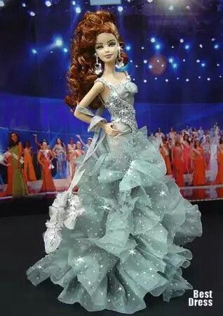 1000+ ideas about Barbie Dress on Pinterest | Barbie, Fashion Dolls and Barbies Dolls