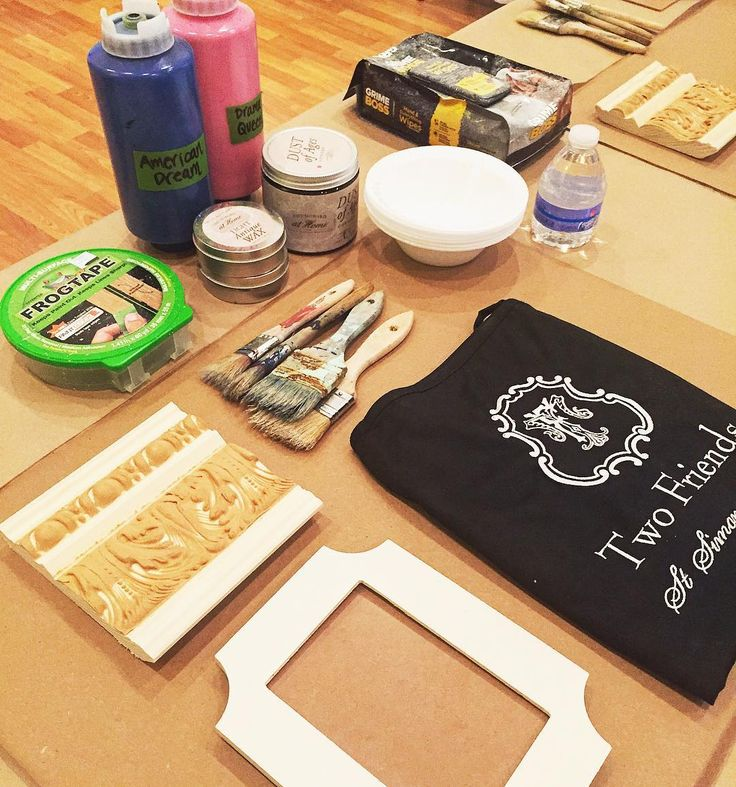 Calling all DIYer's!! Our next Amy Howard at Home workshop is tomorrow night at 6:00! Come learn the basics of chalk paint waxes gilding and more! Sign up online! Link in profile@twofriend_stsimons. #tfssi #stsimonsisland #seaisland #chalkpaint #amyhoward #diy #paintedfurniture #rescuerestoreredecorate #thestudioattwofriends