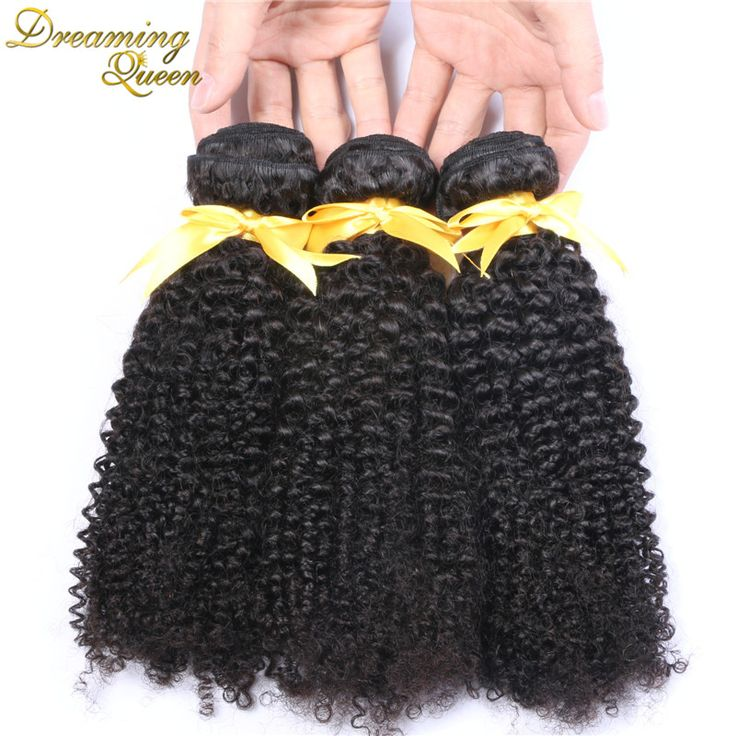 Brazilian Virgin Hair Kinky Curly 3 Pcs/lot bundles Mixed Length 8''-30'' 7A Brazilian Curly Weave Hair Human Hair Extensions