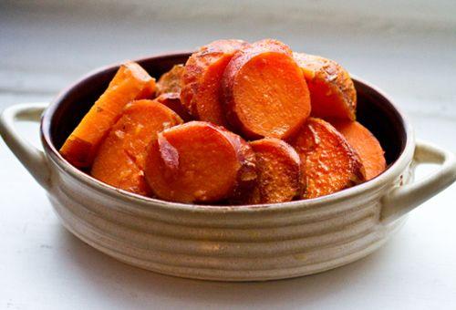 potatoes maple glazed sweet potatoes recipe yummly maple glazed sweet ...