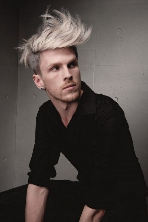 Messy Fauxhawk by Johnson on Bangstyle.com