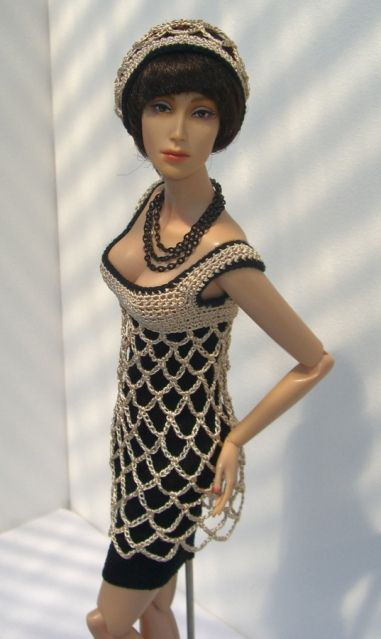crochet fashion royalty | Sybarite 2012 - Handmade by Brunhilde Arend