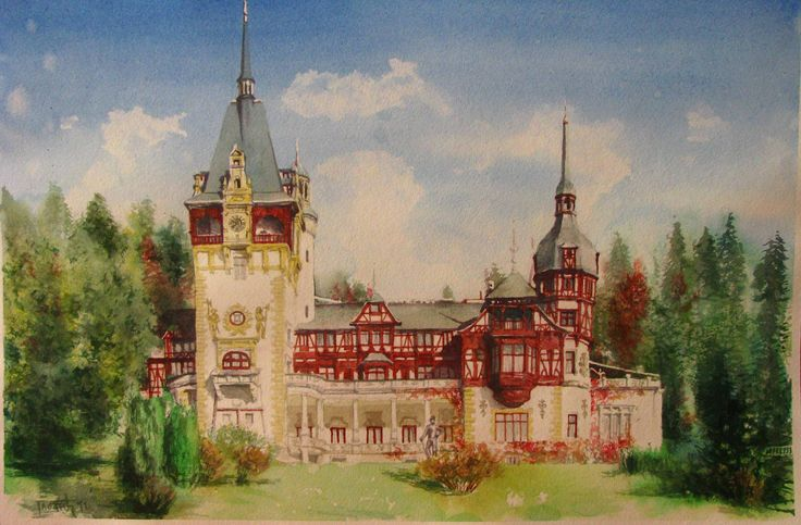 The Peles Castle in Romania, virtual tour. You must look at this, because this castle is so beautiful and ornate!