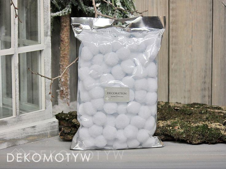 kulki śnieg snowballs 96 sztuk 2,5 cm
