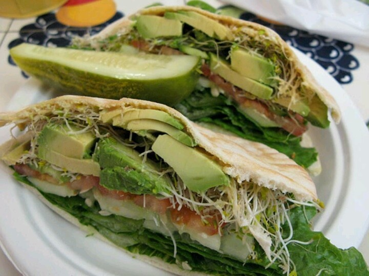 The Great Avocado Sandwich- this has to be the sandwich of my dreams!