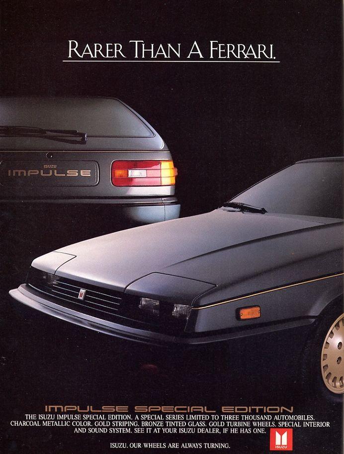 1984 Isuzu Impulse SE