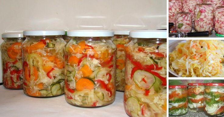 Predstavujeme vám najlepšie domáce recepty, ako pripraviť obľúbené nakladané…