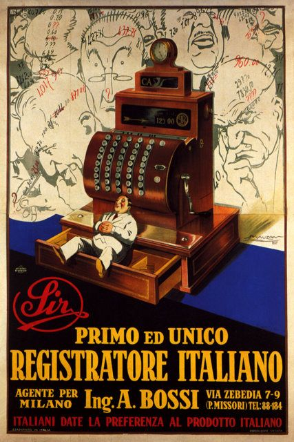 ✔️ Sir - Registratore di cassa Italiano Ing. A. Bossi