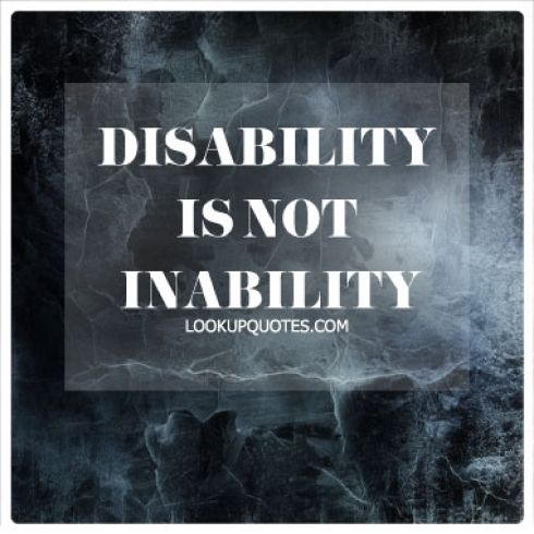 Quotes About Disabilities Inspiration The 25 Best Disability Quotes Ideas On Pinterest  Different