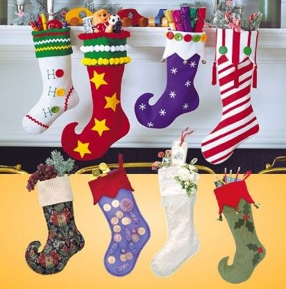 253 best Christmas stockings images on Pinterest   Stockings, Boots ...