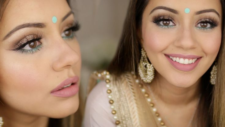 Indian Wedding Get Ready With Me | Indian Glam Makeup
