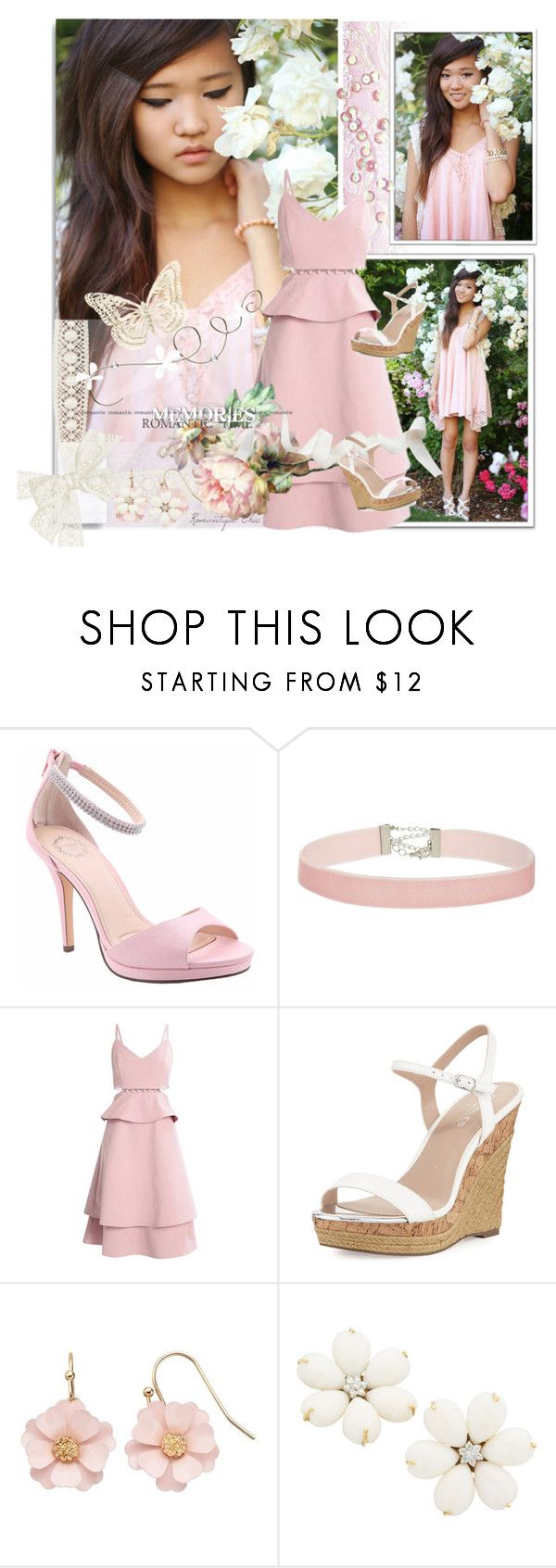 """~ Fill Your Heart With Love & Flowers ~"" by romantiquechic ❤ liked on Polyvore featuring White Label, I. MILLER, Miss Selfridge, Charles by Charles David and LC Lauren Conrad"