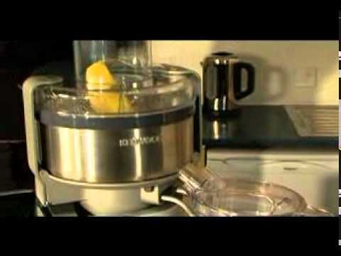 Centrifugal Juicer AT641 |Kenwood Cooking Chef Attachment | Product Video