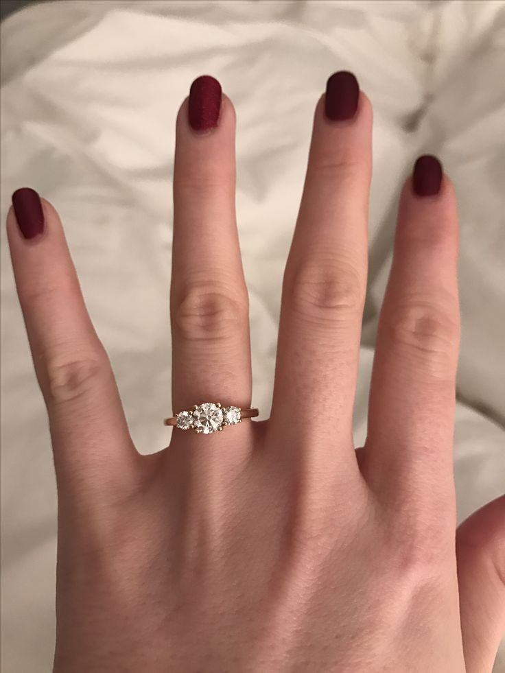 My beautiful trilogy engagement ring
