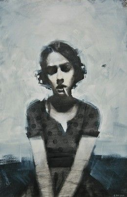 3234 best painting images on Pinterest | Oil on canvas ... David Carson Portrait