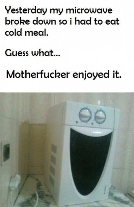 Funny microwave - MEME, Funny Pictures and LOL