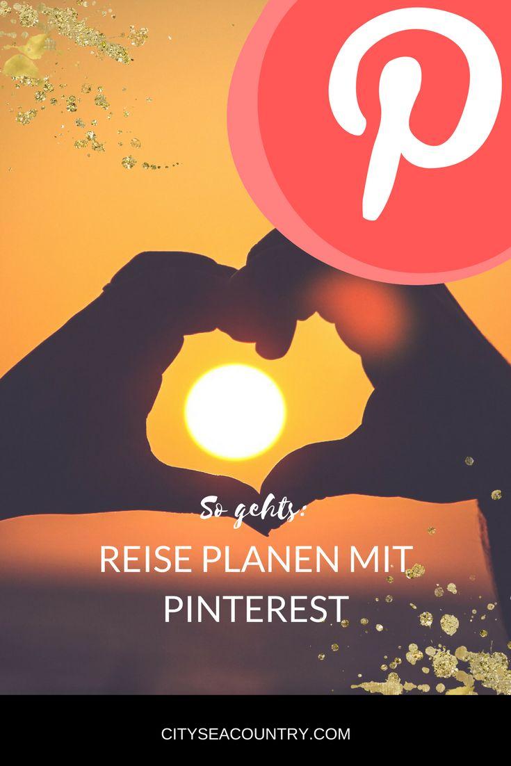 Urlaub planen mit Hilfe von Pinterest? So geht es (Schritt für Schritt Anleitung)