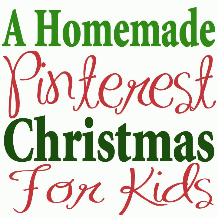 Great Pinterest ideas for kids Christmas presents