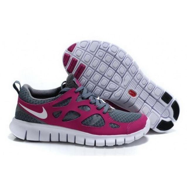 detailed look 07c71 3bd5c ... italy women nike free run 2 shoes gray fuchsia 705d5 85125