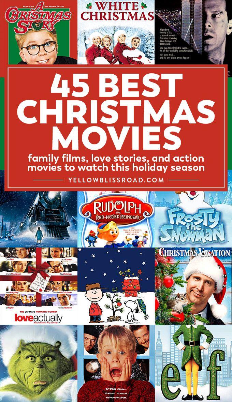 Christmas Movie Night With Free Printables Best Christmas Movies Christmas Movie Night Best Christmas Movies Christmas Movies