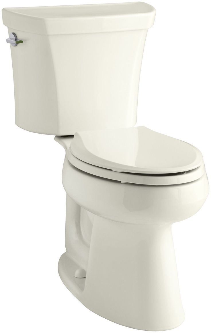 Highline Comfort Height® 2-Piece Elongated Dual-Flush Toilet with Class Five Flush Technology and Left-Hand Trip Lever