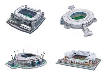 3D Puzzle - Football Stadiums