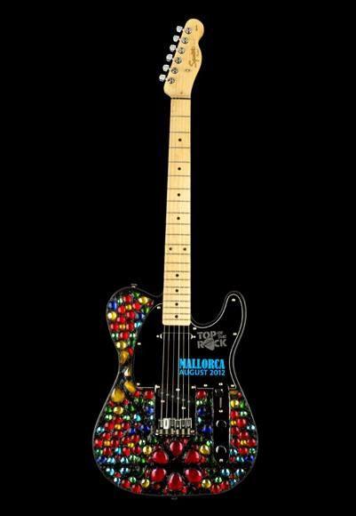 22 best hard rock top of the rock guitars images on pinterest hard rock music instruments and. Black Bedroom Furniture Sets. Home Design Ideas