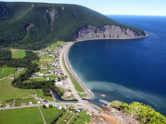 Village Mont-St-Pierre,Gaspésie,Qc