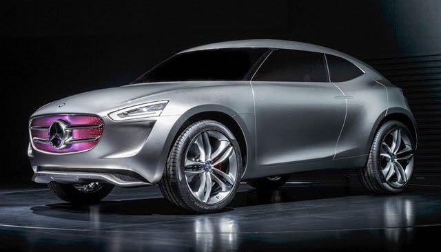 Mercedes Vision G-Code: l'auto del futuro ha la vernice fotovoltaica | Vanilla Magazine