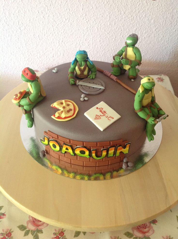 Minions With Teenage Mutant Ninja Turtle Cakes