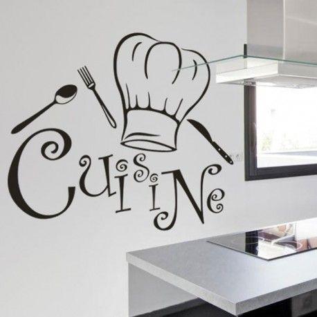 Sticker design cuisine