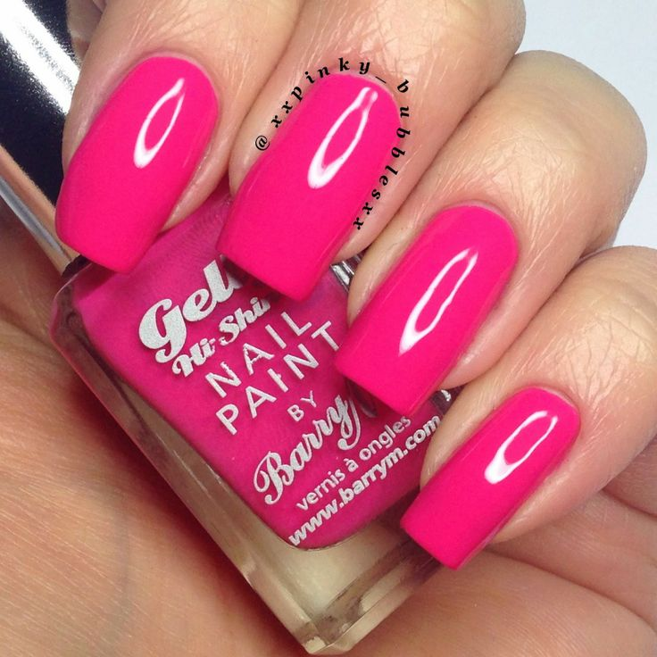 Barry M - Gelly Hi Shine - Pink Punch 26