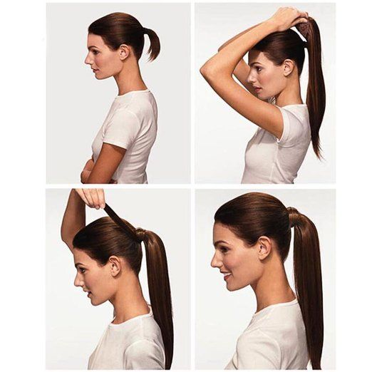 Neverland #Beauty Deluxe Ladies 24'' #Straight #Hairpiece Wigs #Hair #Extensions Wrap Around Clip In Ponytail #Extension 24/27