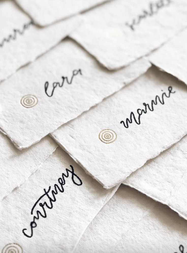 TP & Co. Launch - Building an Empire of Free Spirits – Envelopes by Olympia    Place Cards / Olympia Creative  Lettering / Paige Tuzee Designs