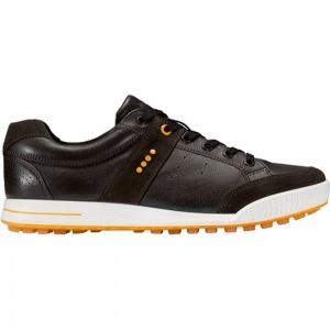 Ecco Premiere 39184 Golf Cleats Mens Brown Leather - ONLY $139.95