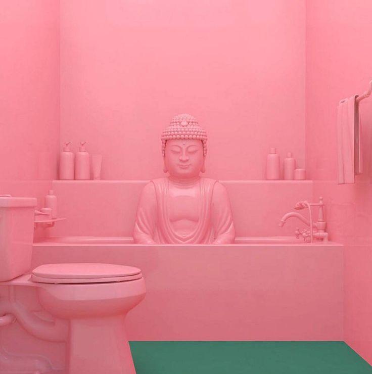 Rosa é a cor mais quente