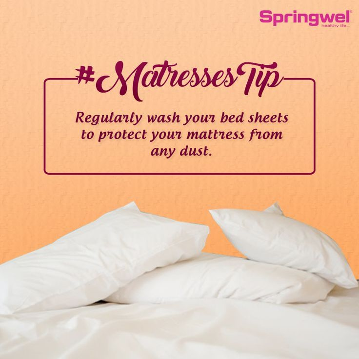 Merveilleux  # Springweltip Regularly Wash Your Bed Sheets And Pillow Covers And Keep  The. Dust MitesThe ...