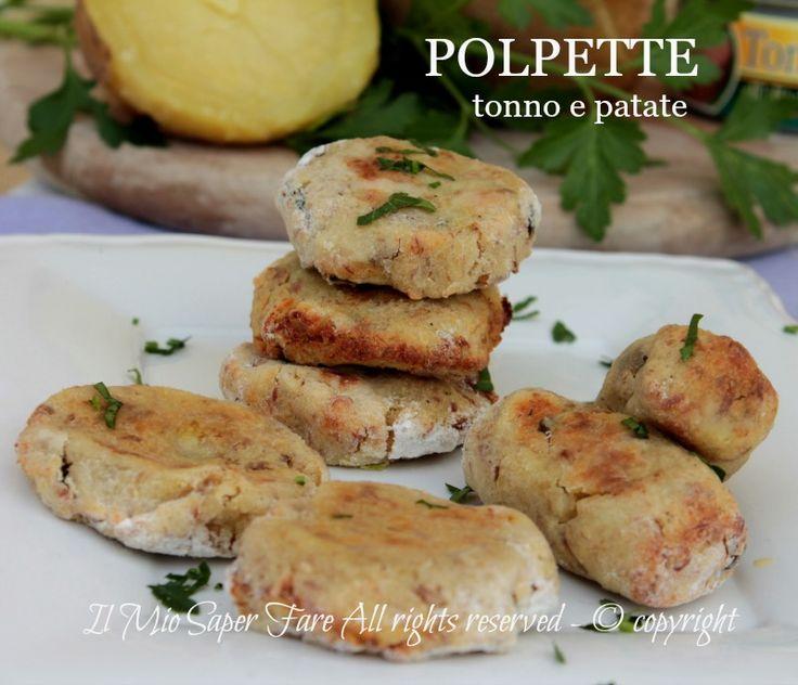 Polpette tonno e patate al forno morbide e gustose.Sfiziose crocchette di patate senza uova per un antipasto sfizioso, un secondo leggero,economico e facile