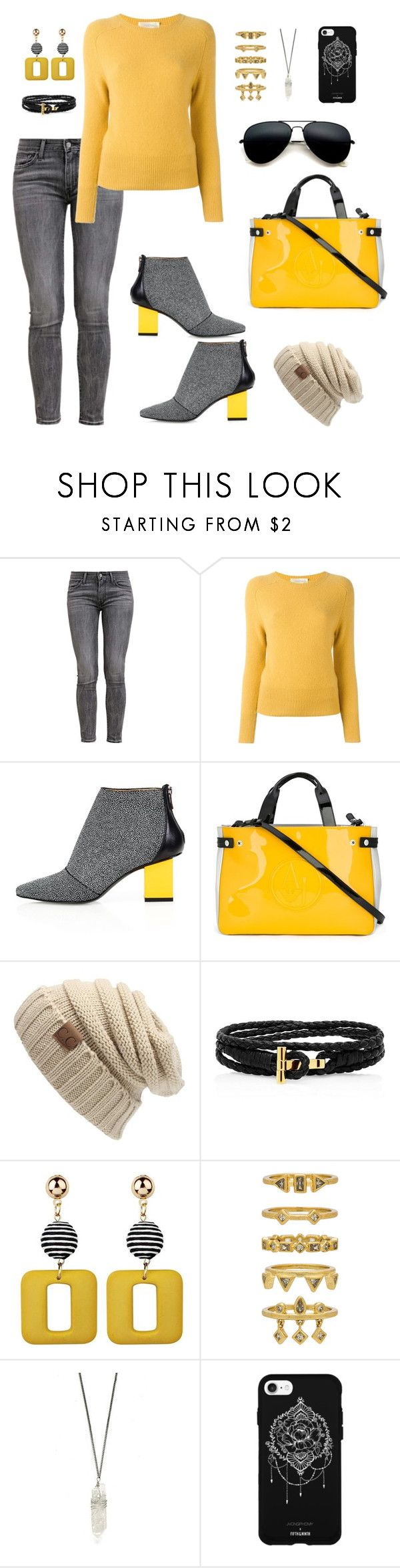 """""""Untitled #70"""" by shaim98 ❤ liked on Polyvore featuring Levi's, Zanone, Kim Kwang, Armani Jeans, Luv Aj and Fifth & Ninth"""