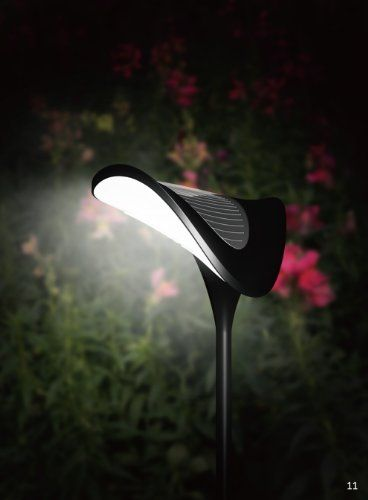 Solar Garden Path Lighting – Solar Ray – Solar Path Light – Set of Three (3) Lights