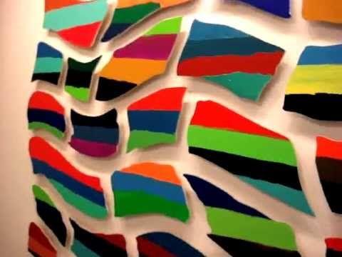 "Pedro Calapez - ""Escala de Color"", exhibition video"