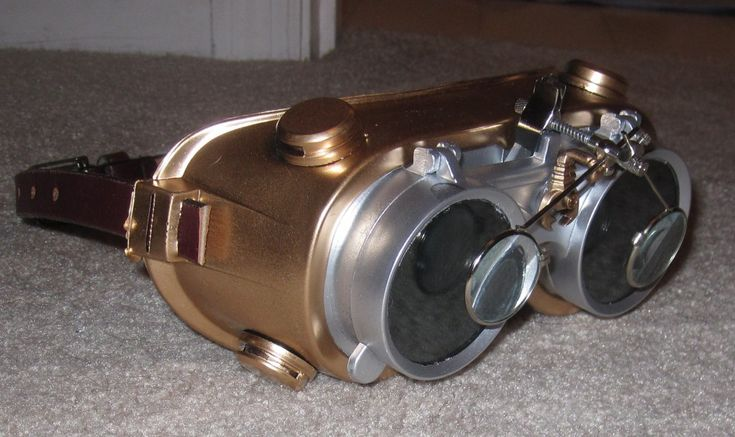 How to make moderately cheap steam punk goggles. This is a great blog! http://susandennard.com