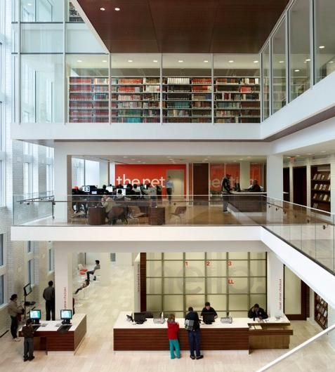 183 best library images on Pinterest Architecture Floor plans
