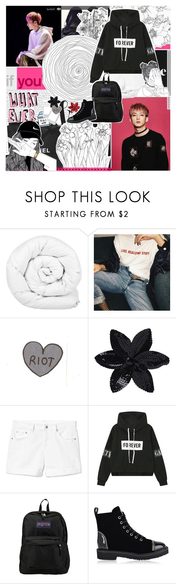 """Zuho imagine; One shot; Fluff; My friend's ex-boyfriend"" by baekyeoltaekook on Polyvore featuring Loren Hope, Brinkhaus, Chanel, ASOS, Gap, JanSport and Giuseppe Zanotti"
