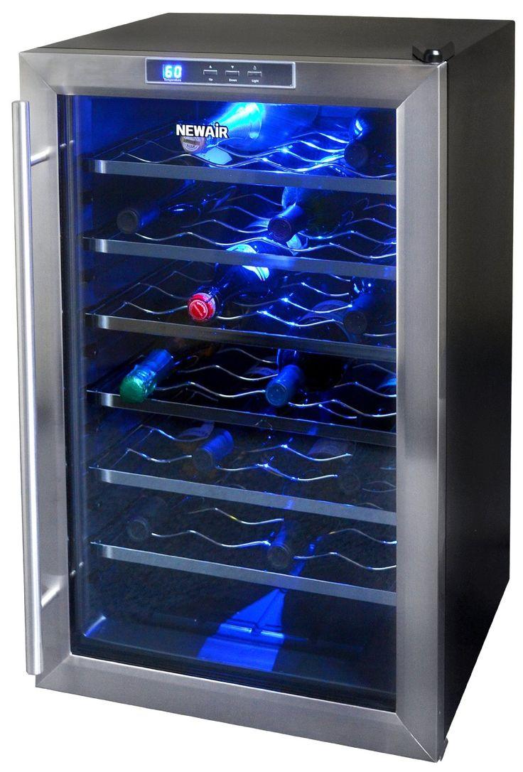 amazoncom newair aw281e 28 bottle wine cooler kitchen u0026 dining