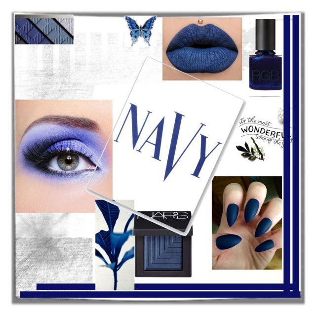 Midnight Kiss by hotmazing on Polyvore featuring polyvore, fashion, style, Burberry, NARS Cosmetics, RGB, COVERGIRL and clothing