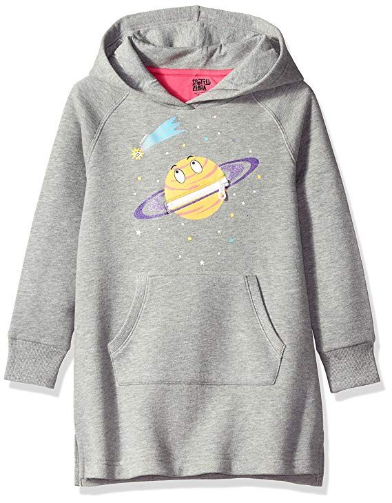 Brand Spotted Zebra Girls Pullover Crew Sweaters