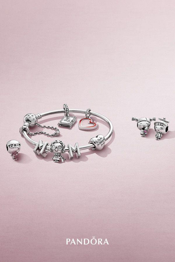 pandora bracelet family charm